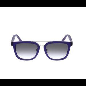 Salvatore Ferragamo Matte Blue Sunglasses